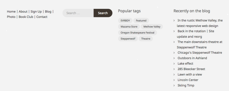 Adding some explicit links in the footer is both a good backup and convenient on layouts where the main menu on top scrolls out of view.