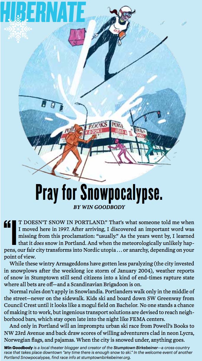 Portland Monthly, December 2014.